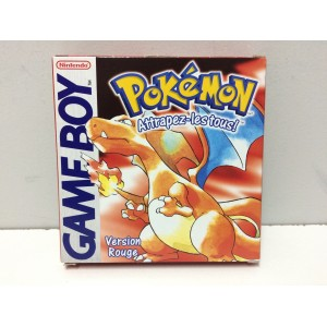 Pokemon Rouge Nintendo Game Boy Pal