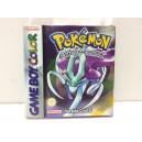 Pokemon Cristal Nintendo Game Boy Color GBC Pal