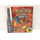 Pokemon Rouge Feu Nintendo Game Boy Advance GBA Pal