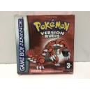 Pokemon Rubis Nintendo Game Boy Advance GBA Pal