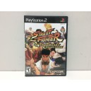 Street Fighter Anniversary Collection Sony Playstation 2 PS2 US