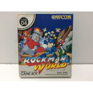 Rockman World Nintendo Game Boy Jap