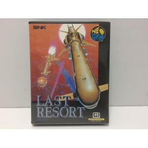 Last Resort SNK Neo Geo AES Jap