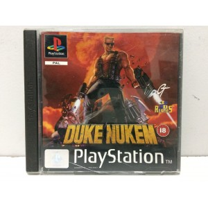 Duke Nukem Sony Playstation 1 PS1 Pal
