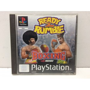 Ready 2 Rumble Boxing Sony Playstation 1 PS1 Pal