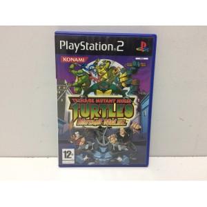 """Teenage Mutant Ninja Turtles """"Mutant Melee"""" Sony Playstation 2 PS2 Pal"""