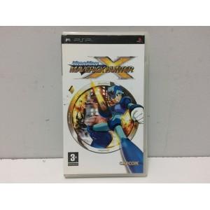 Megaman Maverick Hunter X Sony Playstation Portable PSP Pal