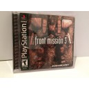 Front Mission 3 Sony Playstation PS1 US